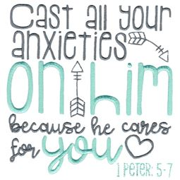 1 Peter 5 Cast All Your Anxieties On Him
