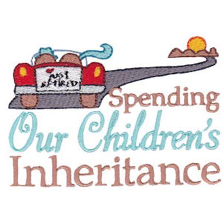 Spending Our Children's Inheritance