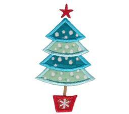 Retro Christmas Applique 1