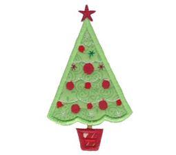 Retro Christmas Applique 2