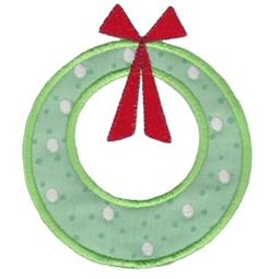 Retro Christmas Applique 3