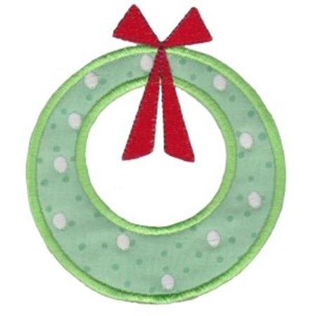 Retro Christmas Applique 3