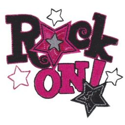 Rock On Applique 12