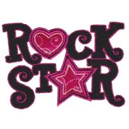 Rock On Applique 13