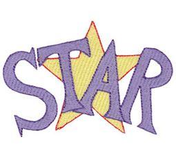 Star Word Art