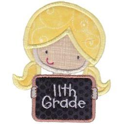 11th Grade Girl Applique