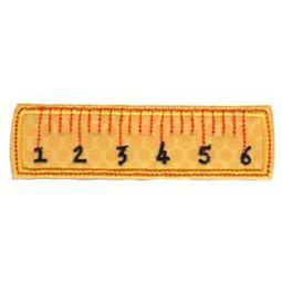 Ruler Applique