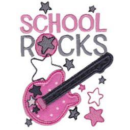 School Rocks Applique