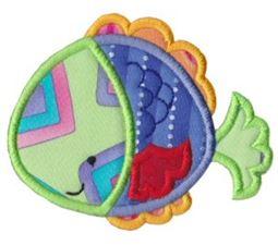 Sea Creatures Applique 3