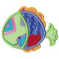 Sea Creatures Applique