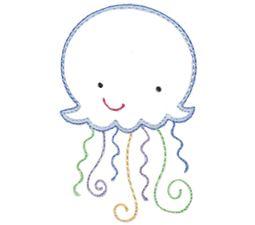 Jellyfish Vintage Stitch