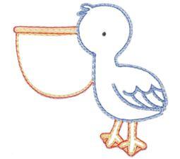 Pelican Vintage Stitch