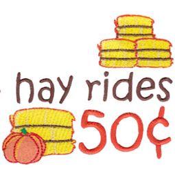 Hay Rides 50c