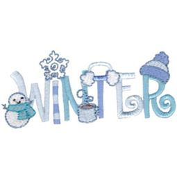 Winter Word Art