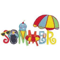 Summer Word Art