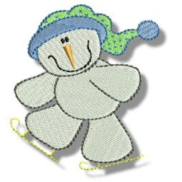 Seasonal Snowmen 6