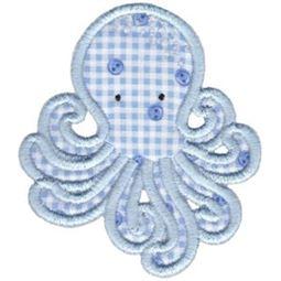 Cute Octopus Applique