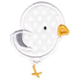 Cute Seagull Applique