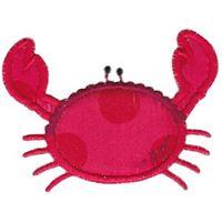 Scalloped Crab Applique