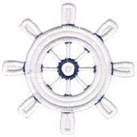 Ship Wheel Applique