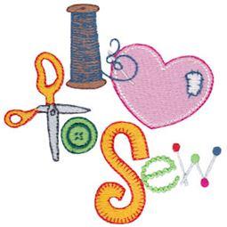 I Love To Sew