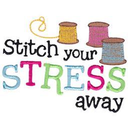 Stitch Your Stress Away