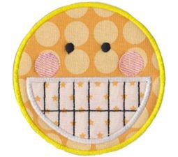 Silly Faces Applique 1