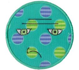 Silly Faces Applique 10