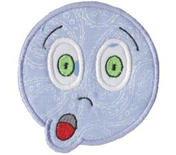 Silly Faces Applique 16