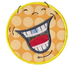 Silly Faces Applique 2