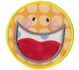Silly Faces Applique 20