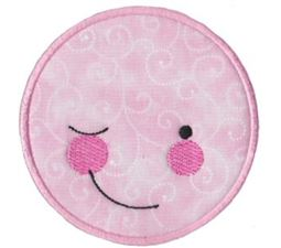 Silly Faces Applique 3