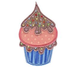 Simply Cupcakes Too Applique 1