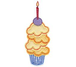 Simply Cupcakes Too Applique 2