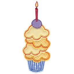 Simply Cupcakes Too Applique 2