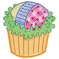 Simply Cupcakes Too Applique 6