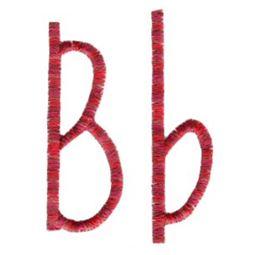 Slender Alphabet b