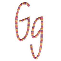 Slender Alphabet g