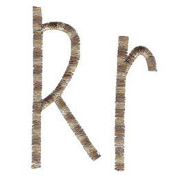 Slender Alphabet r