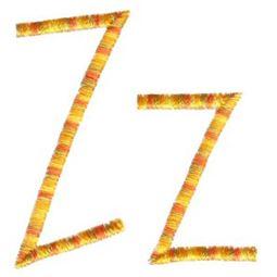 Slender Alphabet z