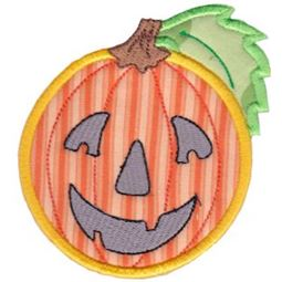 Smiley Face Halloween Applique 10