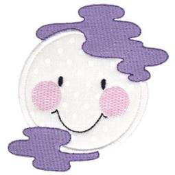 Smiley Face Halloween Applique 12