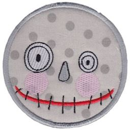 Smiley Face Halloween Applique 16