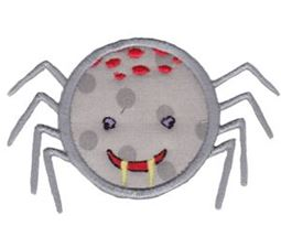 Smiley Face Halloween Applique 17