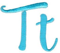 Smoothie Shoppe Alphabet T