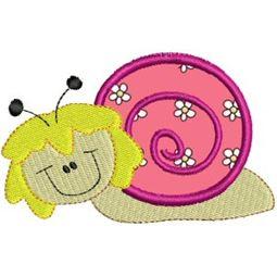 Snails Applique 1