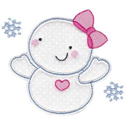 Snowbusiness Applique 11