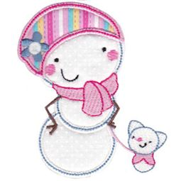 Snowbusiness Applique 12
