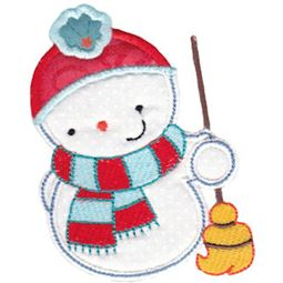 Snowbusiness Applique 7