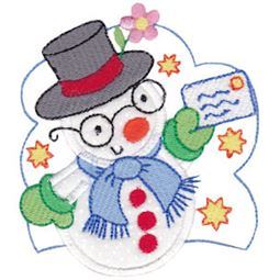 Snow Cuties Applique 1